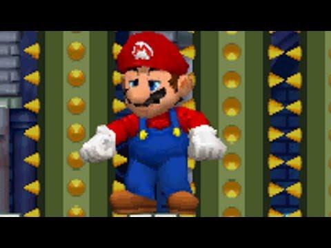 New Super Mario Bros DS - All Castles with Giant Mario (видео)