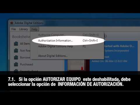 Autorizar Adobe Digital Editions