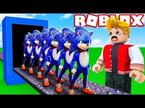 FÁBRICA DO SONIC NO ROBLOX ! (Sonic Tycoon)
