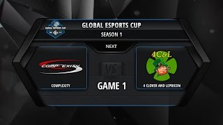 coL vs 4Clovers, game 1