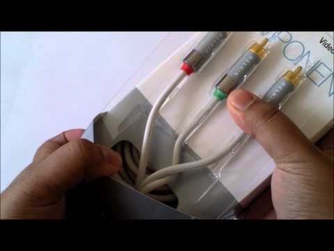 Belkin Component HD Video Cable Unboxing