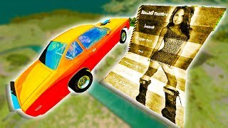 BIGGEST JUMP EVER IN BEAMNG! - BeamNG Drive Mods