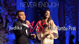 Download Video Never Enough (cover) by Judika & Dini Rambu Piras with Stradivari Orchestra MP3 3GP MP4