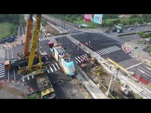 淡海輕軌列車紀錄