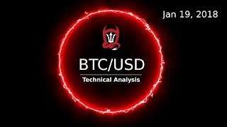 Bitcoin Technical Update (BTC/USD) : Can we put away the Bear spray?  [01/19/2018]