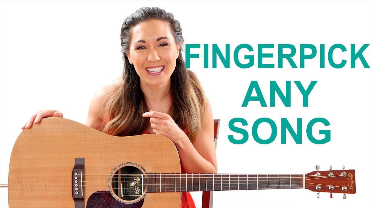 Fingerpick Any Song on the Guitar for Beginners – Easy Fingerpicking Exercises