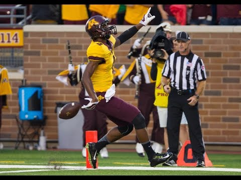illinois - http://www.GopherSports.com Mitch Leidner ran for two scores and threw a touchdown pass to Donovahn Jones, leading Minnesota to a season-opening 42-20 victory over Eastern Illinois on Thursday...