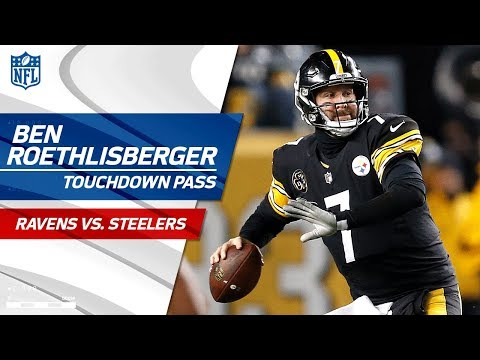 Video: Antonio Brown's Ridiculous Catch-'n-Run Sets Up Big Ben's TD Pass! | Ravens vs. Steelers | NFL Wk 14