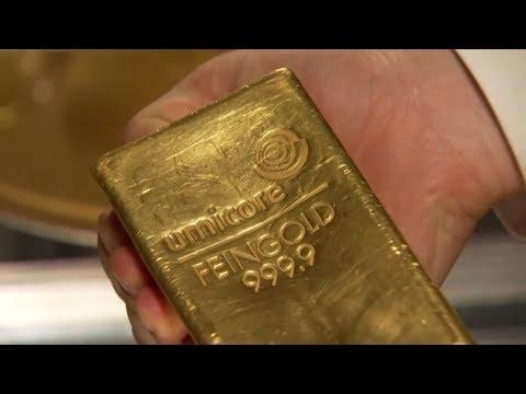 Gold-Käufer müssen sich bald ab 50 Gramm ausweisen