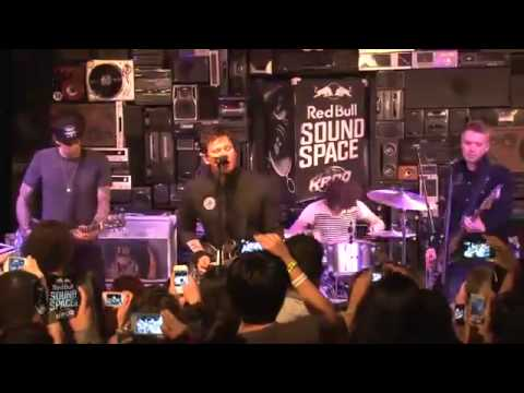 Angels And Airwaves - The Adventure Live (Red Bull Sound Space KROQ) 2012