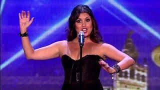 Takiej akcji się nie spodziewali! Zaczęła śpiewać jak w operze ale gdy zerwała sukienkę jurorzy oszaleli!