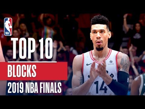 Top 10 Blocks Of The 2019 NBA FInals | Exxon Mobil1
