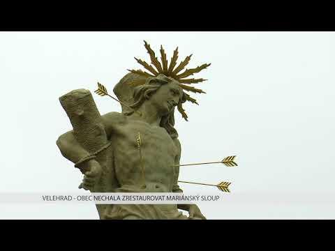TVS: Velehrad - Oprava Mariánského sloupu