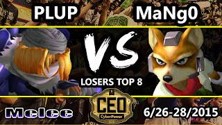 CEO 2015 – Plup (Sheik) Vs. C9 Mango (Fox) SSBM Losers Top 8