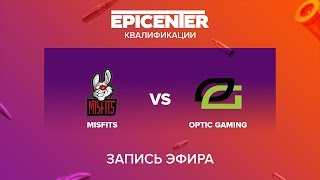 Misfits vs OpTic Gaming - EPICENTER 2017 NA Quals - map1 - de_mirage [Enkanis, MintGod]