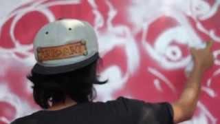 KOMBET KOMBAT Graffiti Battle 1st Day