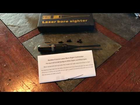 Green Laser Bore Sighter for Airsoft
