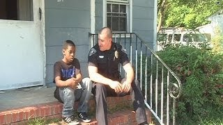 You gotta see this: Police officer goes beyond duty