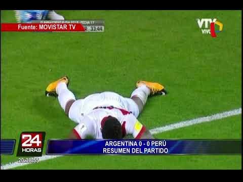 Así fue el partido Perú-Argentina por las Eliminatorias Rusia 2018 (2/2)