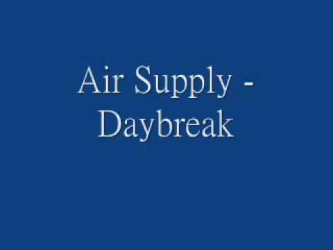 Tekst piosenki Air Supply - Daybreak po polsku