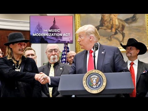 Music Modernization Act SIGNED By President Trump! (2018 Music News)