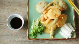 Como fazer tempura de legumes
