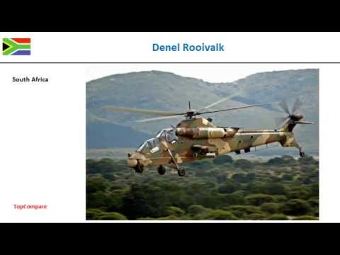Denel Rooivalk Vs Kamov Ka-50,...