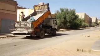 فضيحة تهيئة الطرقات في مدينة العيون الشرقية