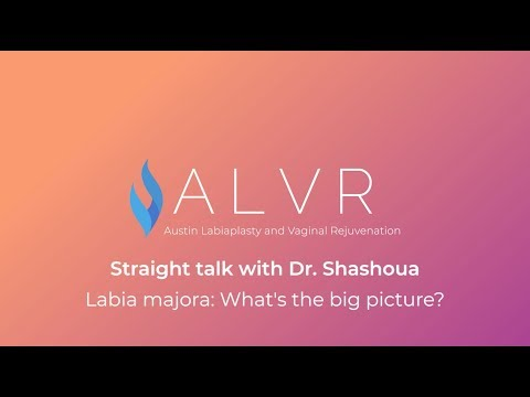 Straight Talk With Dr. George Shashoua Part 2: Labia Majora Reduction