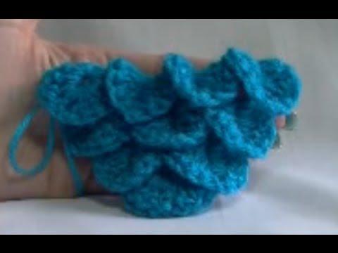 Crocodile Stitch Shawl Crochet Tutorial - How to start