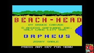 Beach Head [Easy] (MSX Emulated) by ILLSeaBass