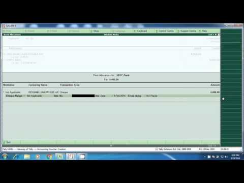 Bank loan repayment entries, Bank installment payment entry