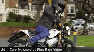 9. MotoUSA First Ride:  2011 Zero Motorcycles