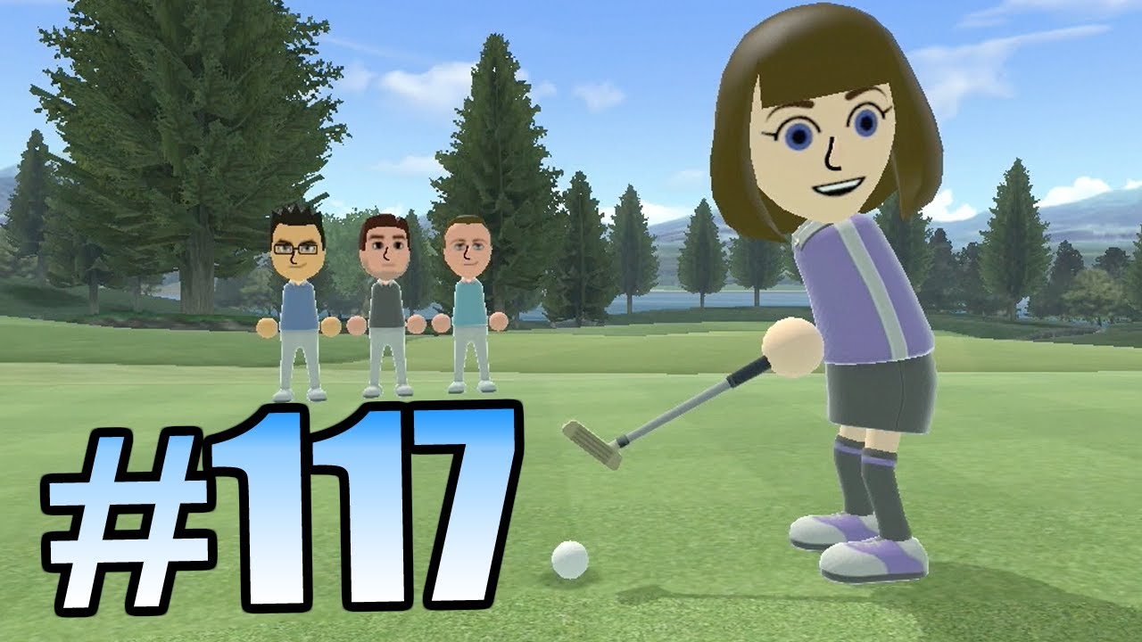 Wii Have Fun #117: Wii Sports Club Golf (Game 1 part 1)
