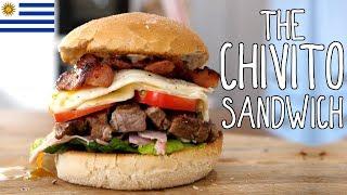 Chivito Sandwich   Taste the World #6 by  My Virgin Kitchen
