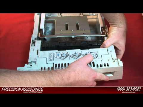HP Color LaserJet 4600 Maintenance Kit Instructional Video