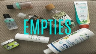 Quick video of my empties!HEY, DOLLS READ ME!Laws Of Nature Foundation: http://www.lawsofnaturecosmetics.com/store/p2/foxy-finish-mineral-creme-foundation (NOT AN AFFILIATE LINK) **COUPON CODE: MALIKA 20% -I'M NOT RECEIVING COMMISSION, This code is for your use as well as mine.Outre Half Wig Dominican Blowout Relaxed https://www.youtube.com/watch?v=h762t...Juice Beauty Review: https://www.youtube.com/watch?v=lrC64...Glory Boon Brow Pomade: https://www.youtube.com/watch?v=kLHM4...Honest beauty Unboxing: https://www.youtube.com/watch?v=eXBqK...Why I went green with beauty/body: https://www.youtube.com/watch?v=Fb1h7...Let's Stay Connected!! Social Media Instagram&Snapchat@Malikalovesshttps://www.instagram.com/malikalovess/Google Plus:https://plus.google.com/+MalikaLoveSubscribe:https://www.youtube.com/channel/UCICL...For business only:Bookmalikalove@gmail.com!!!!!!!Currently, I have no P.O. BOX !!!!!!!Want to do a video collaboration?Contact me via any of my social media outlets or email.Try Honest Beauty: https://www.honestbeauty.com/?share=9... (REFERRAL link) Have you tried ebates? join now and get money back when you sign up through my referral link! (REFERRAL Link)http://www.ebates.com/rf.do?referreri...(FTC Disclaimer: This video is not sponsored, all views are my own. I purchased all products with my own money unless otherwise specified in the upper description or in the video. Links that are affiliate links will be stated in quotation marks by the links. If there is an affiliate link that means that I receive a small commission when you purchase through my link. All my links are safe. I would never put up affiliate links without allowing you to know. This also goes for coupon codes. However, some coupon codes I provide do not provide me with a commission and I will always state if they do or don't by the coupon code. Some companies give you coupon codes, as Laws Of Nature Cosmetics did for me (MALIKA) but did not offer me any commission, they only allowed me to use the code to get the same percentage off you get, when purchasing their products. Thank you for reading this and continuing to support me.)
