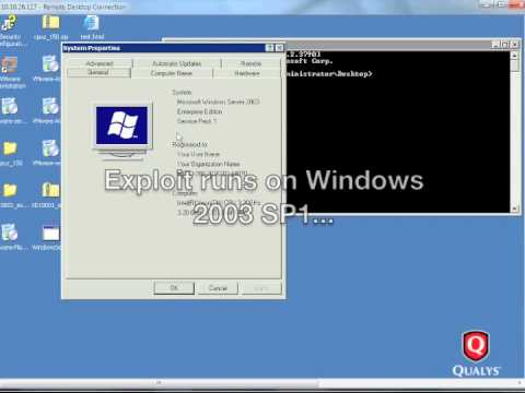Microsoft MS10-018 Exploit for Obsolete Windows 2003 SP1