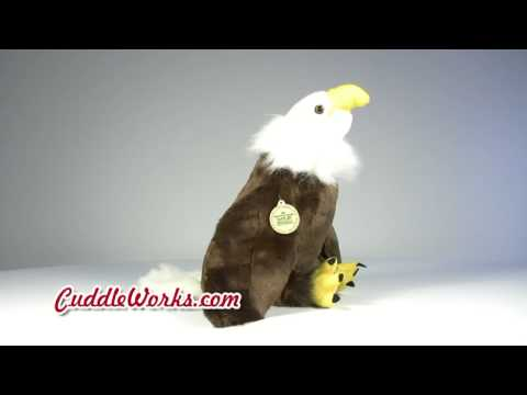 Eagle Plush Stuffed Animal at CuddleWorks.com