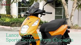 8. Lance PCH 200i, Sporty Scooter From Chicago's