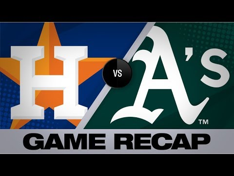 Video: Bregman, Greinke hit milestones in win | Astros-A's Game Highlights 8/18/19