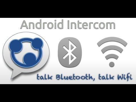 The Intercom app that turns your smartphone into the Bluetooth radio set