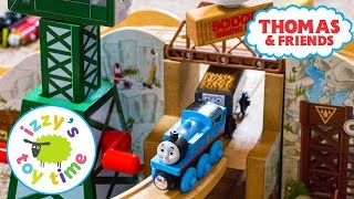 Thomas Train GOLD MINE MOUNTAIN! Thomas and Friends with KidKraft and Brio   Toy Trains for Kids