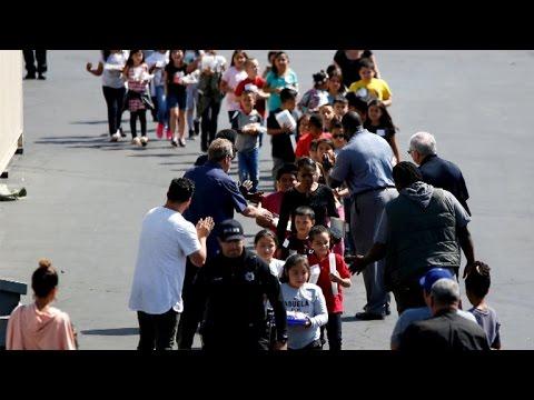 Authorities search for motive in San Bernardino elementary school shooting