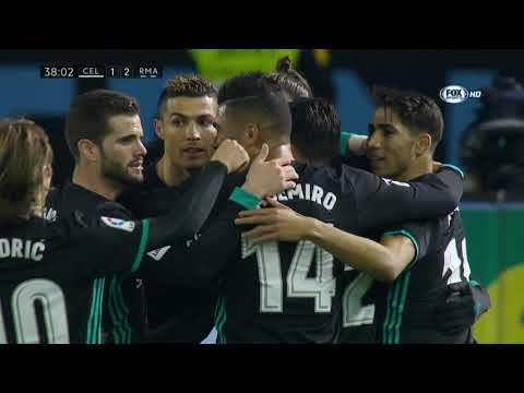 Celta Vigo vs Real Madrid 2-2 ● All Goals & Highlights - La Liga 7/1/2018 HD