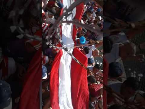ENTRADA DE LA BARRA DE LA BOMBA vs Rosario Central - La Barra de la Bomba - Unión de Santa Fe