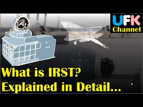 An infrared search and track (IRST)...