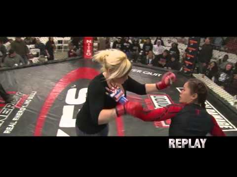 This is what happens when a soccer mom decided to enter pro mma