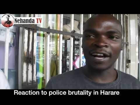 #StreetTalk: Reaction to police brutality in Harare