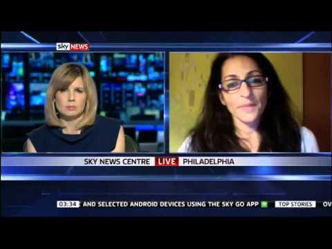 Susana Abulhawa On Yasser Arafat SKY NEWS